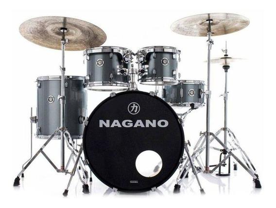 Bateria Acústica Nagano Garage Fusion 20 Polegadas