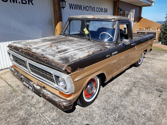 Hotv8 Vende Ford F100 4cil Rat Rod Legitimo
