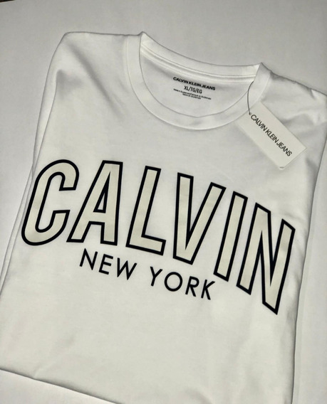 Playeras Calvin Klein L Y Xl Envio Incluido