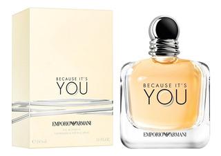 Perfume Because Its You De Emporio Armani Edp 100ml Nuevo