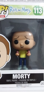 Funko Pop Morty, Rick Y Morty. Casi Sin Usar.