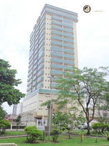 Apartamento Residencial À Venda, Vila Guilhermina, Praia Grande - . - Ap2431