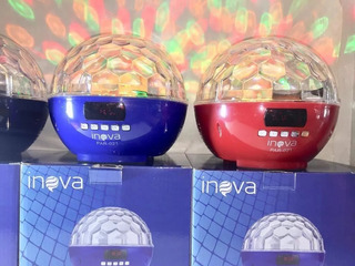 Parlante Magic Ball Con Efectos Lumínicos Bluetooth Usb Mp3
