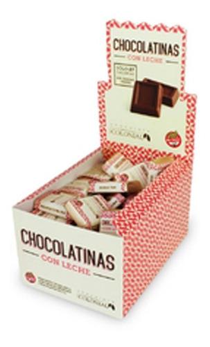 Imagen 1 de 6 de Chocolatinas Colonial Leche 5g -pack 50un-  La Golosineria