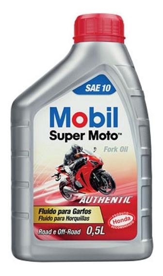 Mobil Super Moto Forkoil Óleo De Bengala Suspensão Dianteira