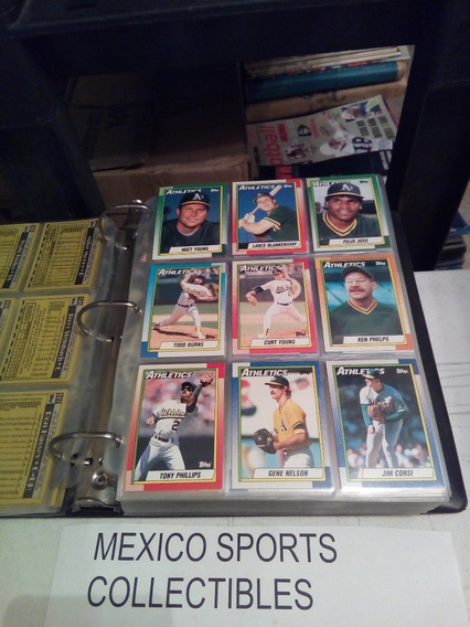 1990 Topps Baseball Completo 792 Tarjetas