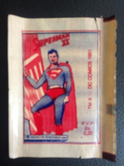 3 Envelopes De Figurinhas Lacrado Superman 2 - Venezuela
