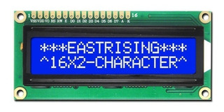 Display Lcd 16x2 Backlight Azul 1602 Hd44780 Arduino Pic