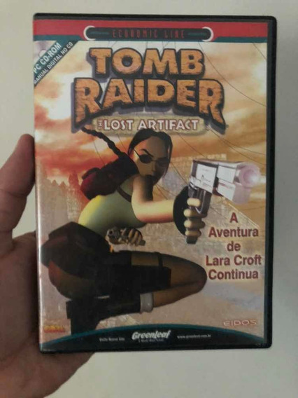Game Tomb Raider: The Lost Artifact Pc Frete Grátis