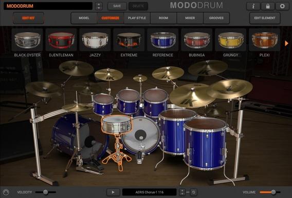 Modo Drum - Lançamento Bateria Virtual De Alto Nivel