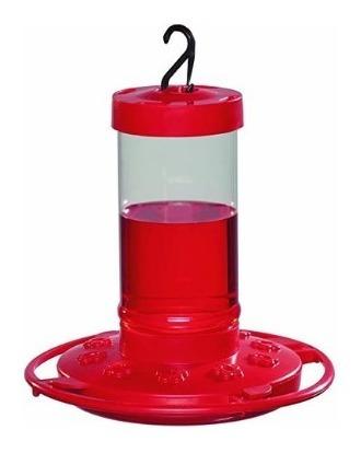 Comedero De Colibrí 470 Ml Color Rojo De 10 Flores
