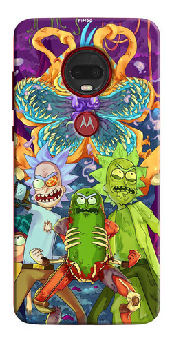 Estuche Personalizado Rick Y Morty iPhone Samsung Huawei