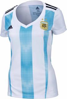 Camisa Feminina adidas Argentina I 2018/2019