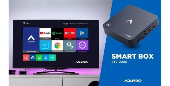 Smart Tv Box Aquário. Nacional Homologado Pela Anatel.