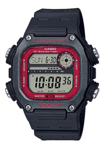 Reloj Casio Dw-291h-9a Resist Agua 200m Pila 10años Garantia