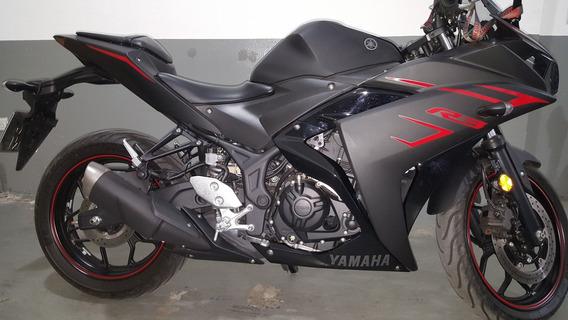 Yamaha R3 Yzf 2018 Negro Mate Unica En Su Estado