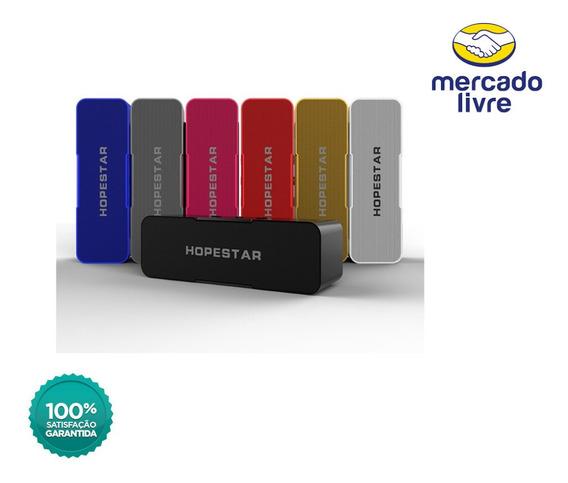 Caixa De Som Hopestar H13 Wireless Bluetooth A Prova D
