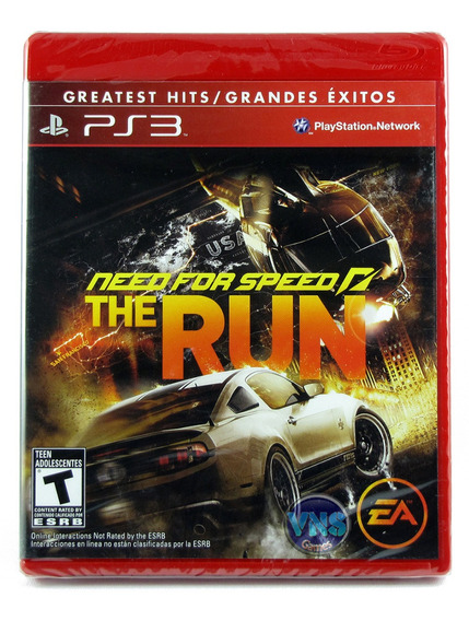 Need For Speed The Run - Playstation 3 - Americano - Lacrado