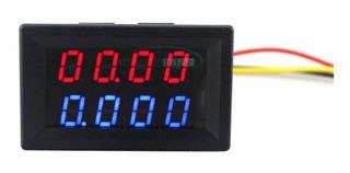Voltímetro Amperímetro De Precisión 4 Digitos Hasta 10a Em