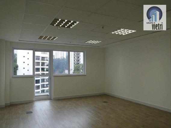 Sala Para Alugar, 43 M² Por R$ 2.200/mês - Vila Andrade - São Paulo/sp - Sa0161