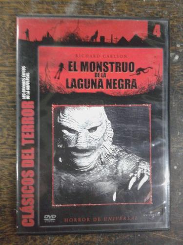 Imagen 1 de 4 de El Monstruo De La Laguna Negra * Clasicos Del Terror * Dvd