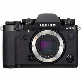 Câmera Fuji Xt3 Mirrorless Fujifilm X-t3 - Corpo - Preta