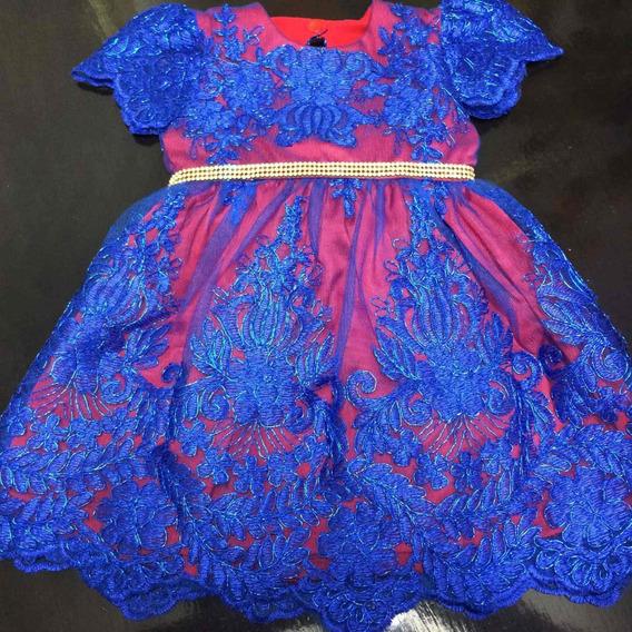 Vestido Luxo Infantil Tam. 1