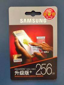 Micro Sd Samsung 256gb 4k U3 Class10 100mb/s Original, Lacr