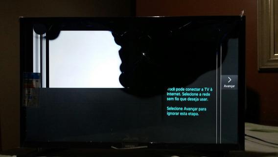Sucata Smart Tv Sansung Un32j4300 Hd Tela Trincada