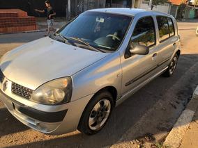 Renault Clio 2005 - Motor 1.6 - 4 Portas Com Ar E Direção