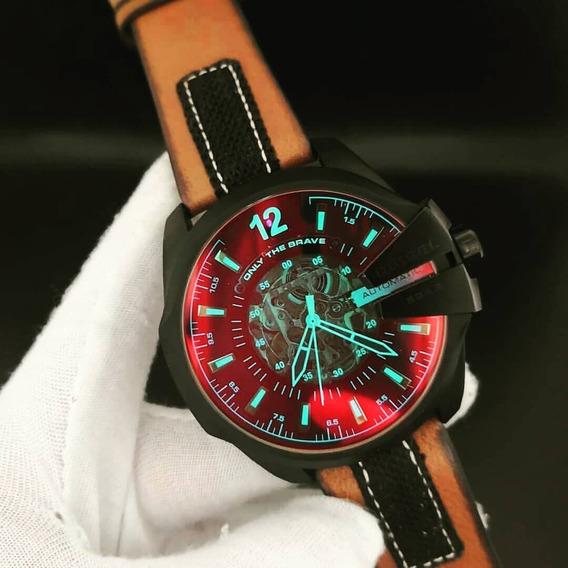 Relógio Diesel Dz4378, 1 Ano De Garantia