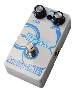 Pedal De Efectos Para Guitarra Electrica Ross Chorus Analogo Chr-504 Led Indicador Conector Plug Jack Carcasa De Metal
