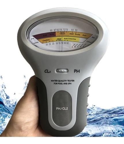 Nuevo Medidor De Cloro Cl2 Y Ph Calidad Del Agua. Piscina