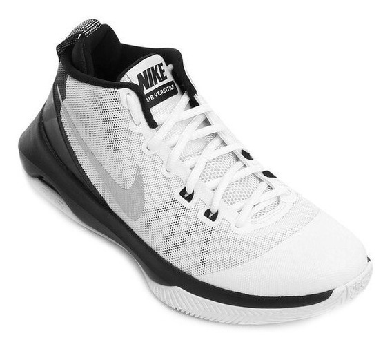 Tênis Nike Air Versitile - Original Tamanho 48 Branco Preto