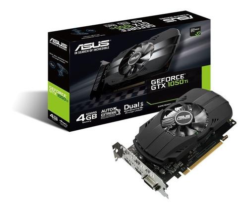 Imagen 1 de 9 de Placa Video Asus Nvidia Gtx 1050ti 4gb Ddr5 Phoenix Hdmi Dvi
