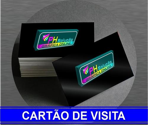 Arte Final Cartão De Visita Banner Panfletos Comandas Etc