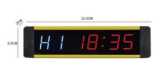 (nuevo) Reloj Cronómetro Mini Crossfit Mma Tabata