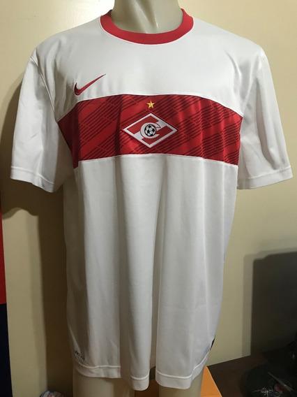 Camiseta Spartak Moscú Rusia 2011 2012 Rojo #19 Estudiantes