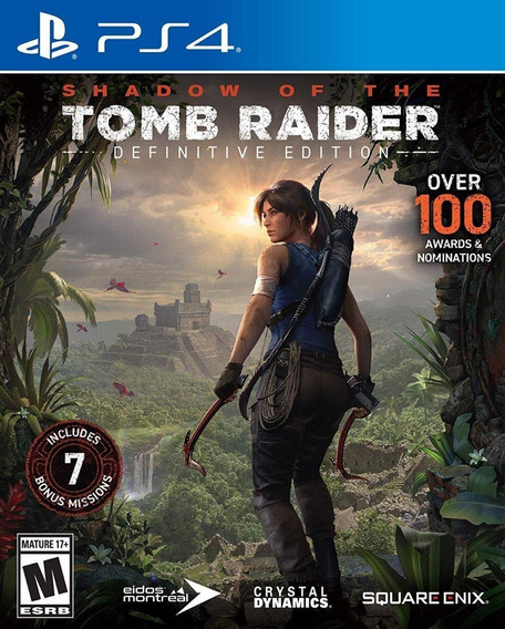 Shadow Of The Tomb Raider Definitive Edt. - Ps4 - Nacional!
