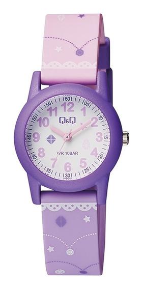 Relógio Q&q Infantil Para Menina Prova D