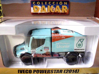 Mc Mad Car Dakar Iveco Powerstar 2014 Camion Coleccion 1/43