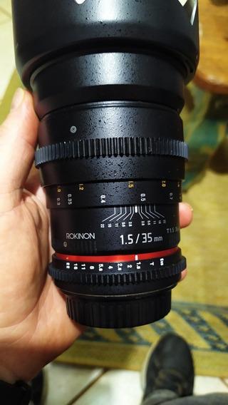 Lente Rokinon 35mm