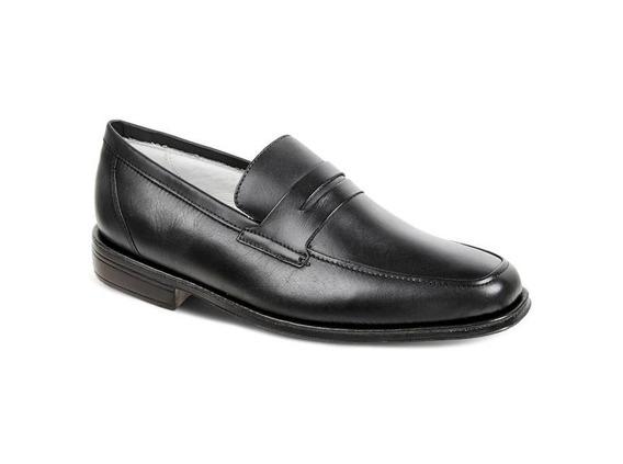Sapato Social Masculino Loafer Sandro Moscoloni Stuart Preto