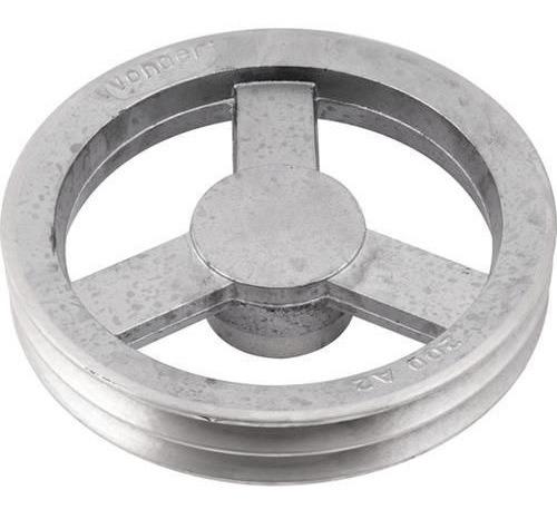 Polia De Alumínio 2 Canais A 200 Mm Vonder ( 2 Unidades )