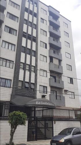 Imagem 1 de 15 de Apartamento Com 2 Dormitórios À Venda, 76 M² Por R$ 250.000,00 - Ocian - Praia Grande/sp - Ap2466