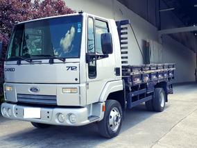 Ford Cargo 712 Vuc Carroceria 11/12 Estado De Zero Km
