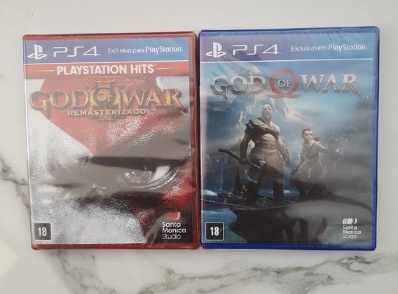 Combo God Of War 3 + God Of War 4 Discos Físicos Lacrados