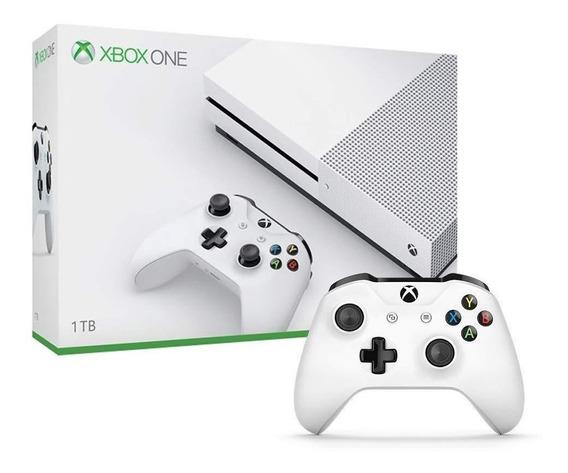 Xbox One S 1 Tb Microsoft Hdr 4k Com Nf