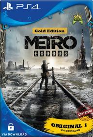 Metro Exodus Gold Edition | Ps4 1 | Code 1 | Lançamento