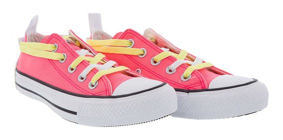 Tênis Converse Chuck Taylor Lift Ox Rosa Neon - 35